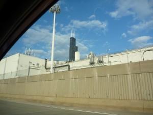 arrivée à Chicago