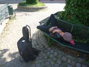 repos à Heidelberg
