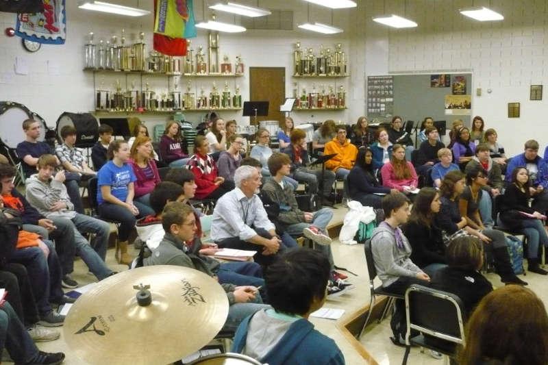 Lee High School, Staunton, Virginie  2012