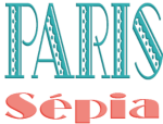logo paris sepia